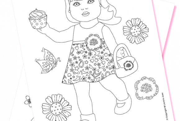 Coloring dolls (Download PDF)