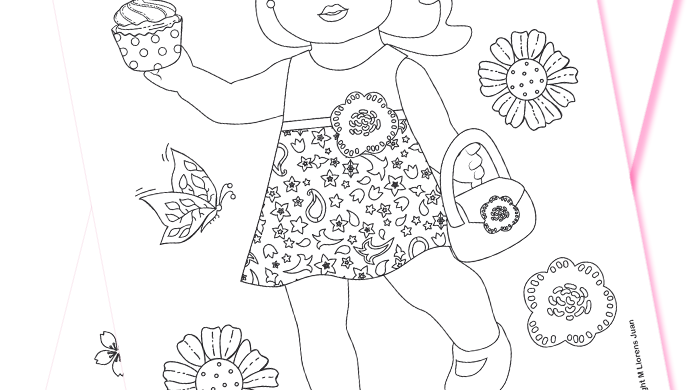 Coloring Dolls Download PDF