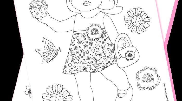 Coloring Dolls Download PDF