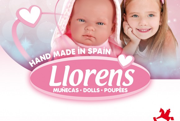 Llorens Dolls will be at Spielwarenmesse: 1-6 February