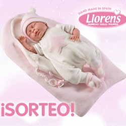 Ganador de nuestro sorteo de una Muñeca Llorens del nuevo catálogo