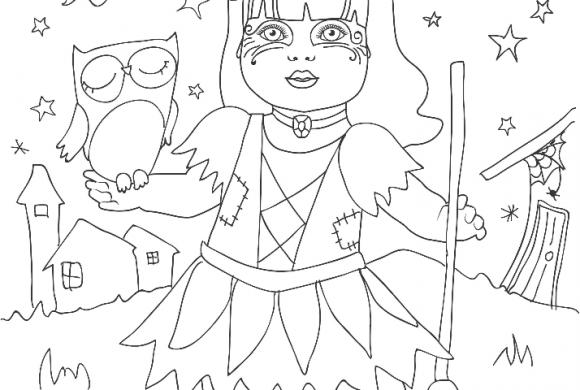 Brujita Halloween (Descargar PDF)