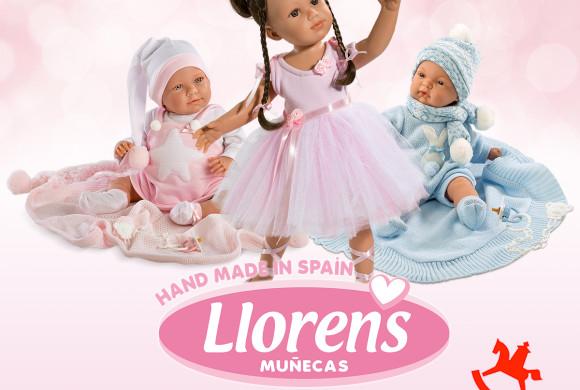Muñecas Llorens en Spielwarenmesse: del 31 de Enero al 4 de Febrero