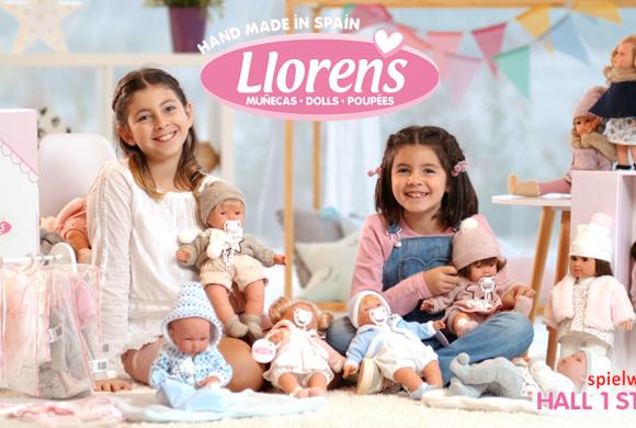 Muñecas Llorens en Spielwarenmesse: del 30 de Enero al 3 de Febrero